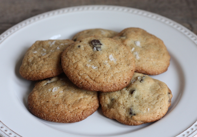 best salted chocolate chip cookie recipe | writes4food.com