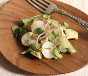 sugar snap pea salad #writes4food