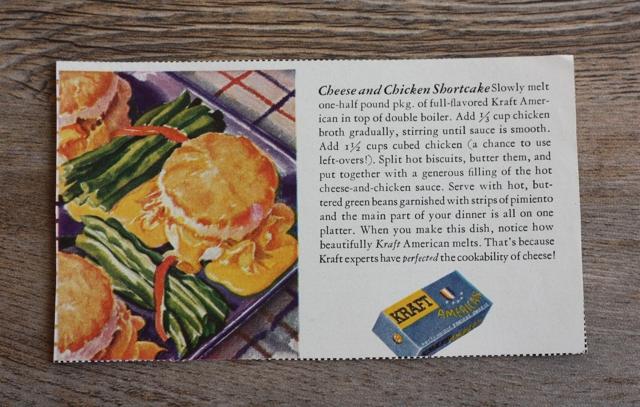 cheesy chicken shortcakes