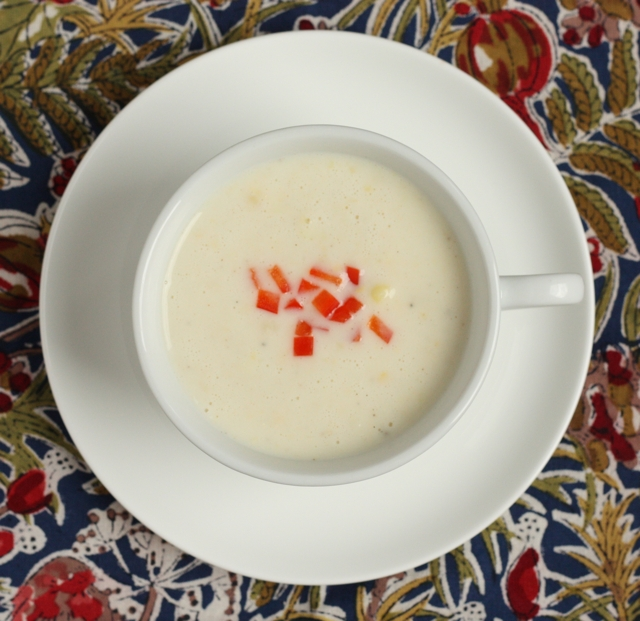 creamy corn soup recipe | writes4food.com