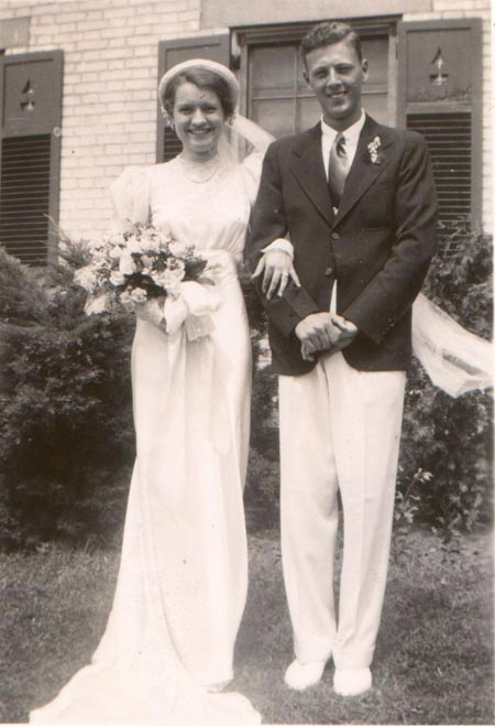 1937 - Roy & Claire Williams - August 21, 1937