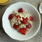 Berry-almond muesli.
