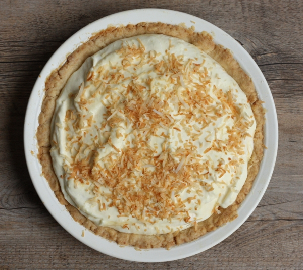 Grandmother's coconut cream pie recipe   writes4food.com
