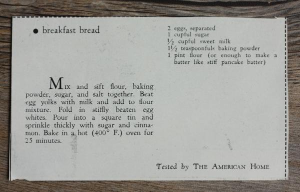 recipe for old-fashioned cinnamon coffee cake