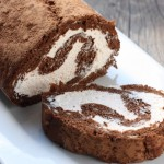 The Clara Project: chocolate roll cake.