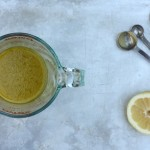 The best lemony vinaigrette.