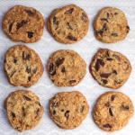 Christmas Cookie-palooza: Cherry toffee cookies.