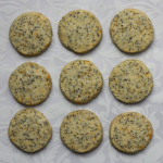 Christmas Cookie-palooza: Orange poppy seed butter cookies.