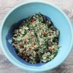 Easy tabbouleh salad.